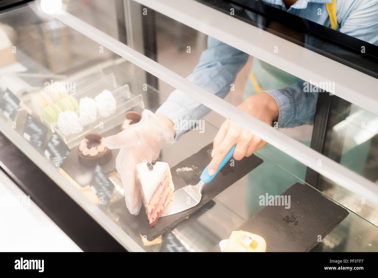 Artisan Cake Shop - Stock Image