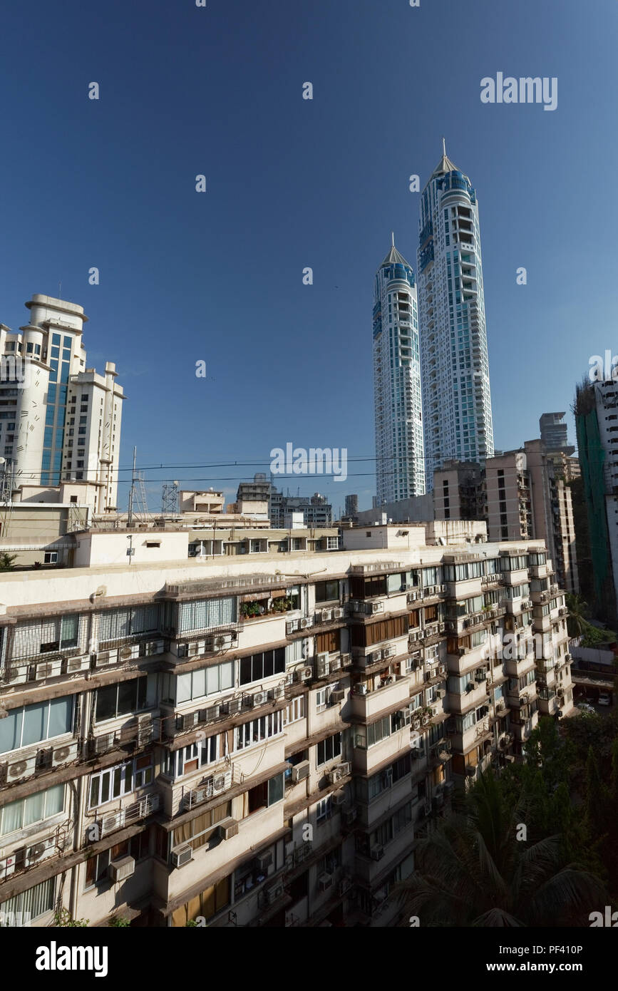 The imperial twin towers stock photos the imperial twin towers tardeo jehangir boman behram road architect hafeez contractor tallest building the imperial twin towers residential buildings altavistaventures Choice Image