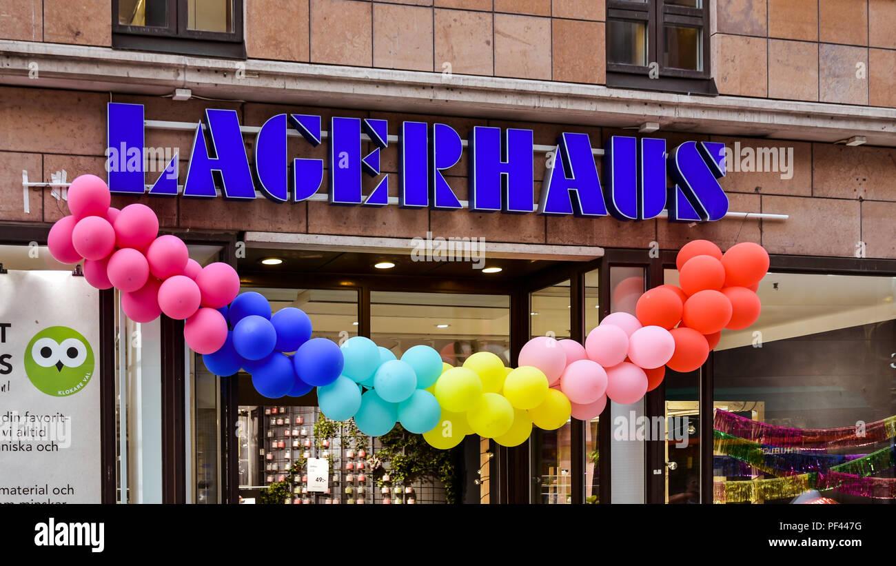 Lagerhaus, a Home Goods store on Drottninggatan Stockholm, Sweden Stock Photo