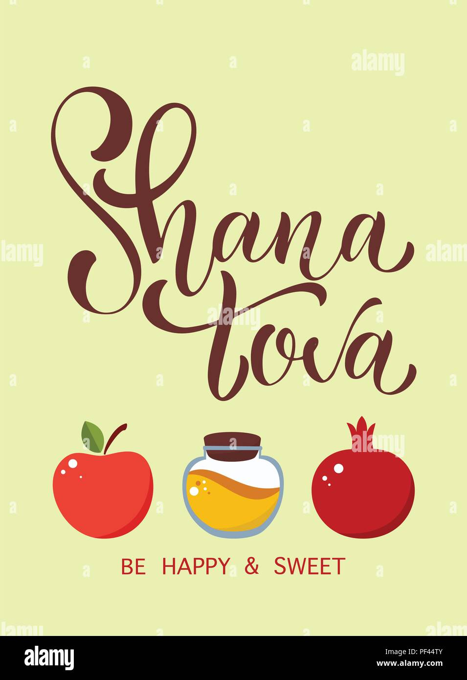 Shana tova calligraphy text for jewish new year blessing of happy shana tova calligraphy text for jewish new year blessing of happy new year elements for invitations posters greeting cards m4hsunfo
