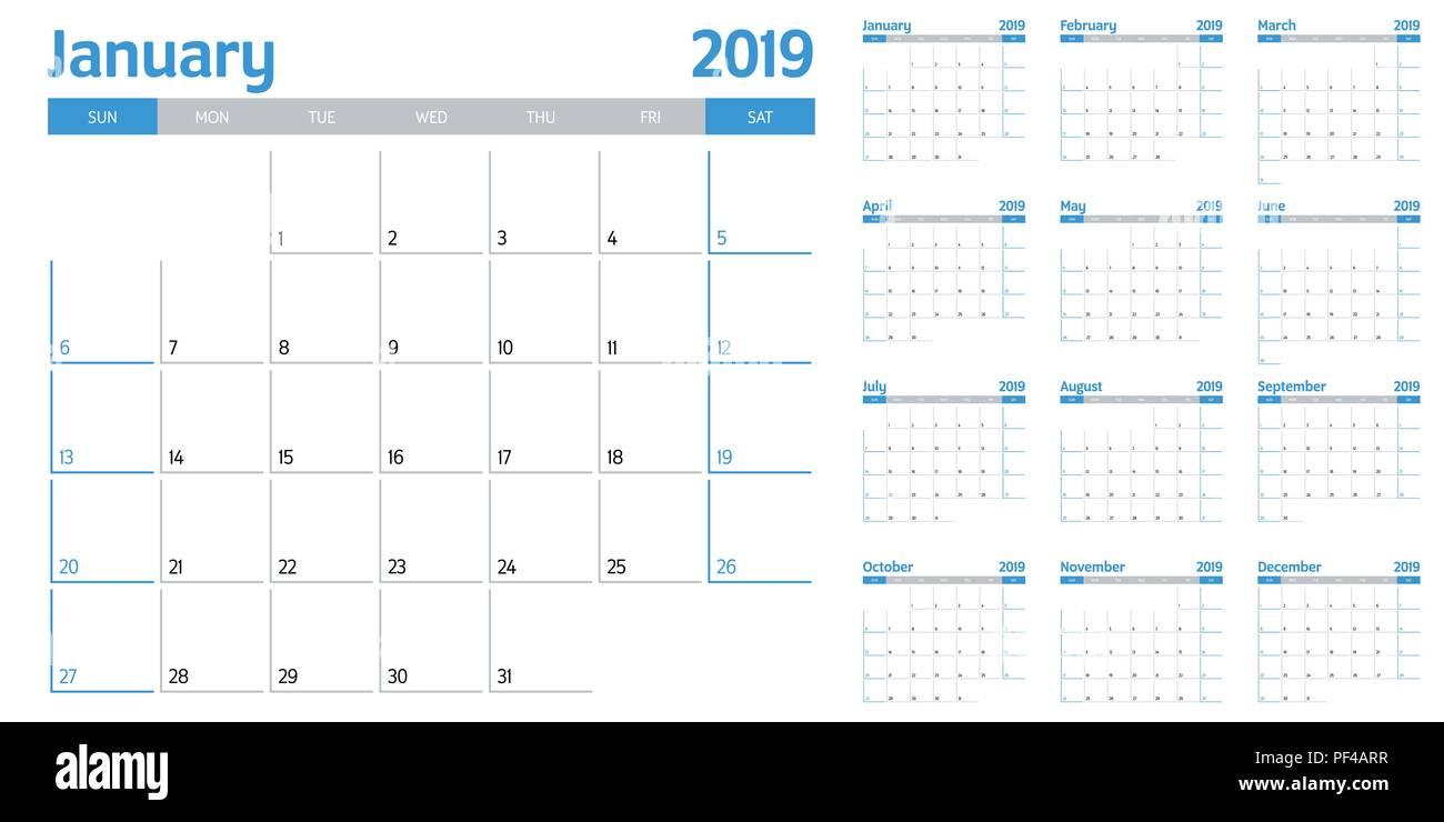sunday through saturday calendar template