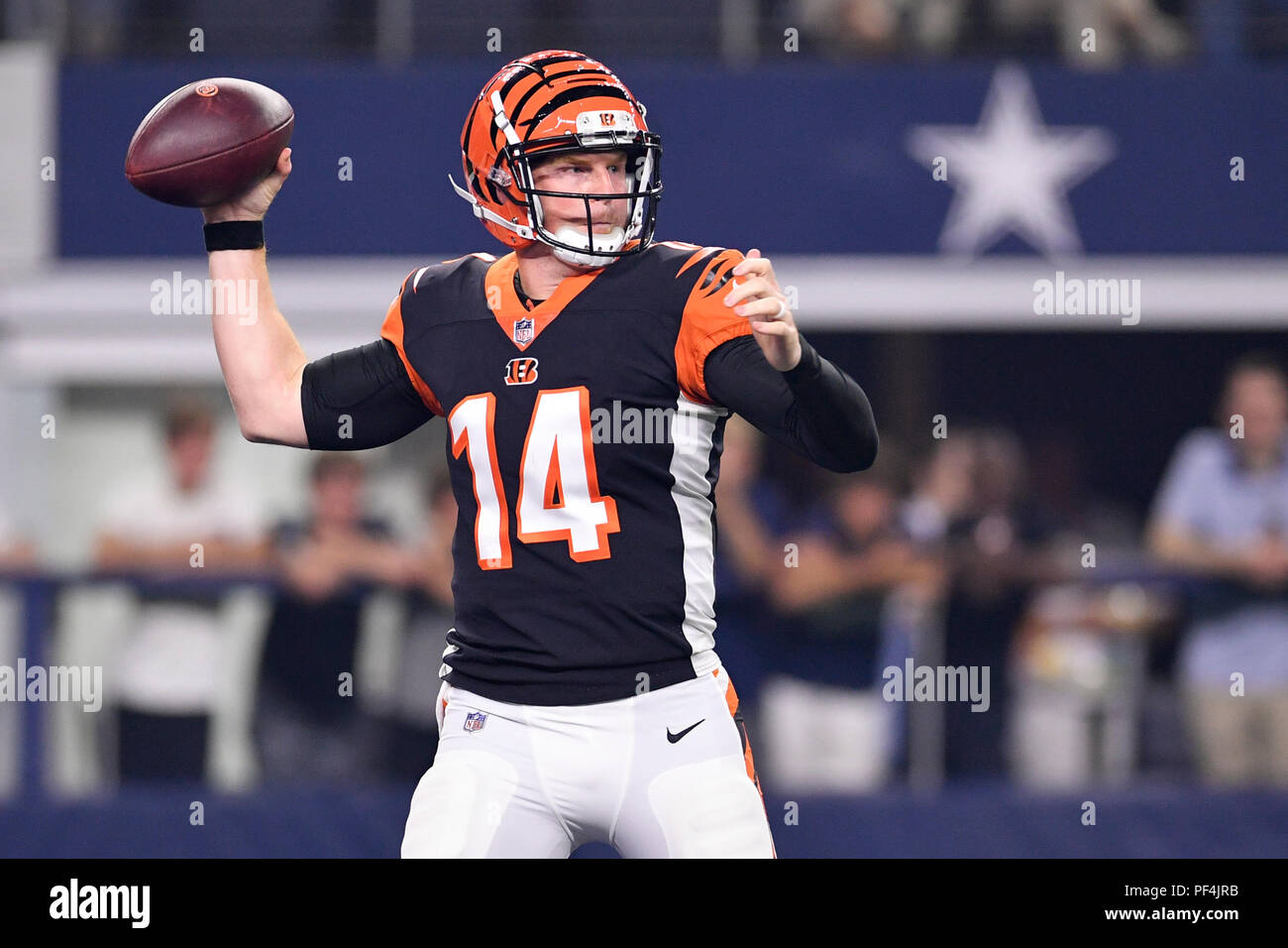 hot sale online df840 a2f8d Texas, USA. 18 August 2018. Cincinnati Bengals quarterback ...