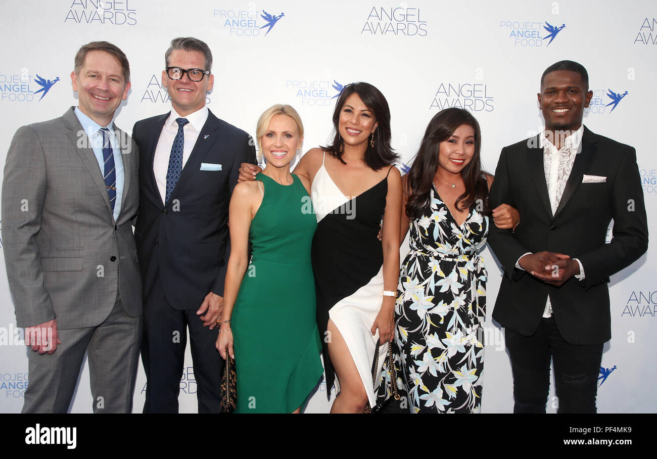 Los Angeles Ca Usa 18th Aug 2018 Jennifer Thang Marcus Smith Cher Clavin Jessica Holmes Jason