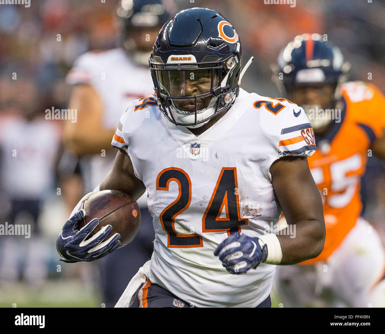 Colorado, USA. 18 August 2018. Chicago Bears Running Back