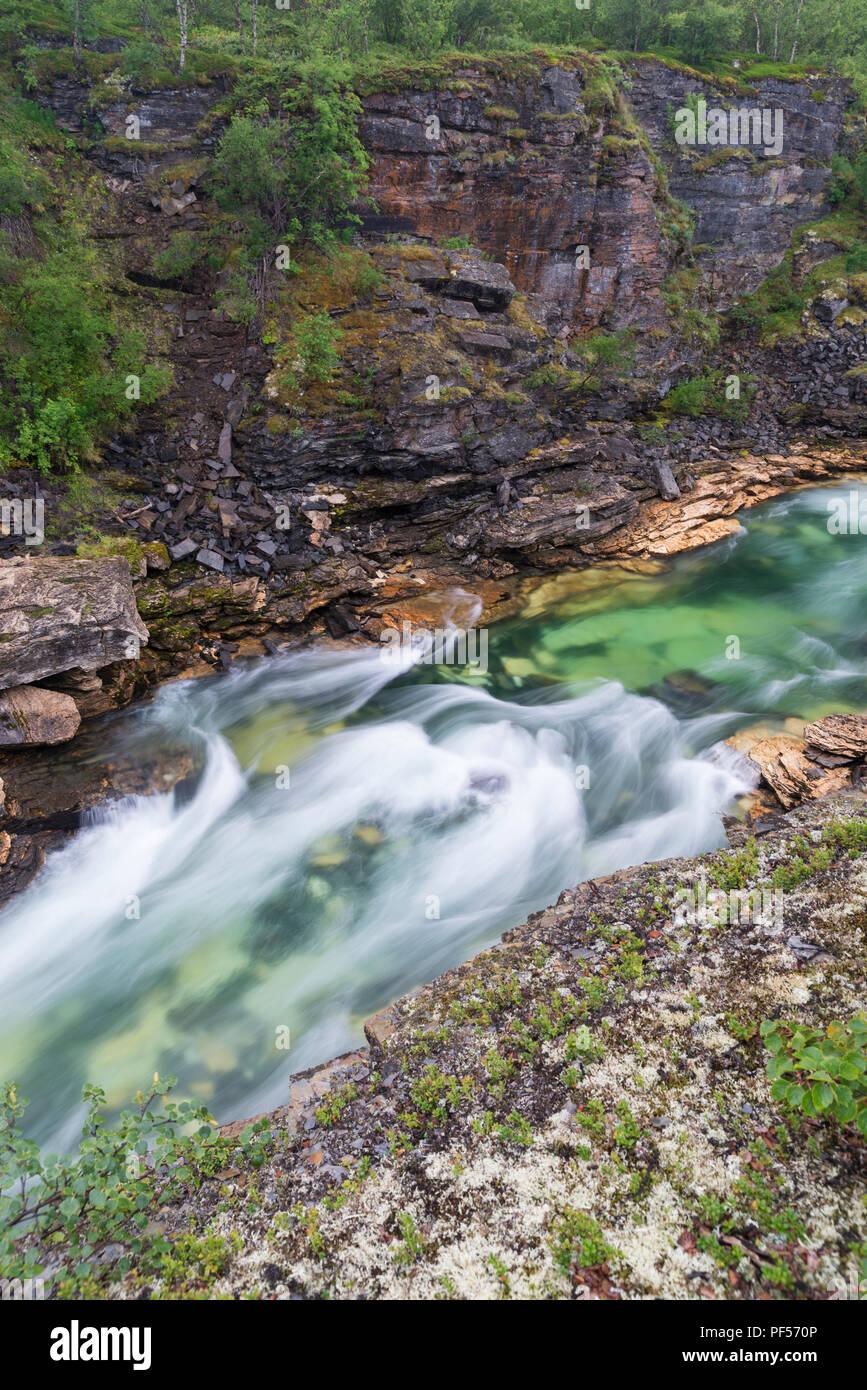 Abisko National Park in Sweden - Stock Image