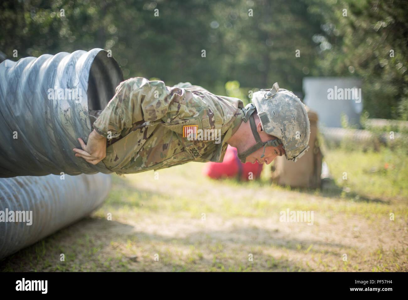 U S  Army Reserve Spc  Jacob Books, 376th Engineer
