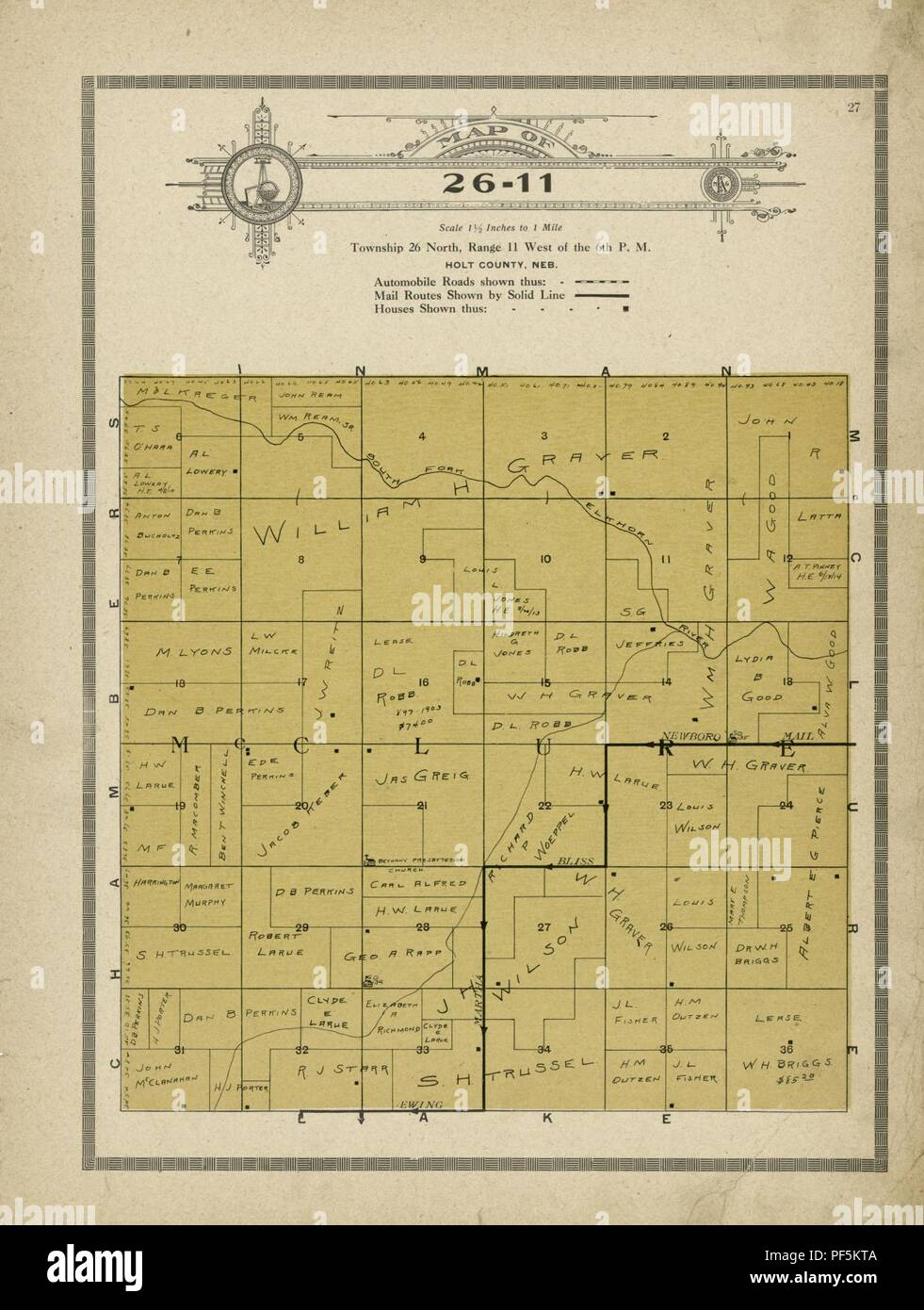 Atlas and plat book of Holt County, Nebraska - containing ...