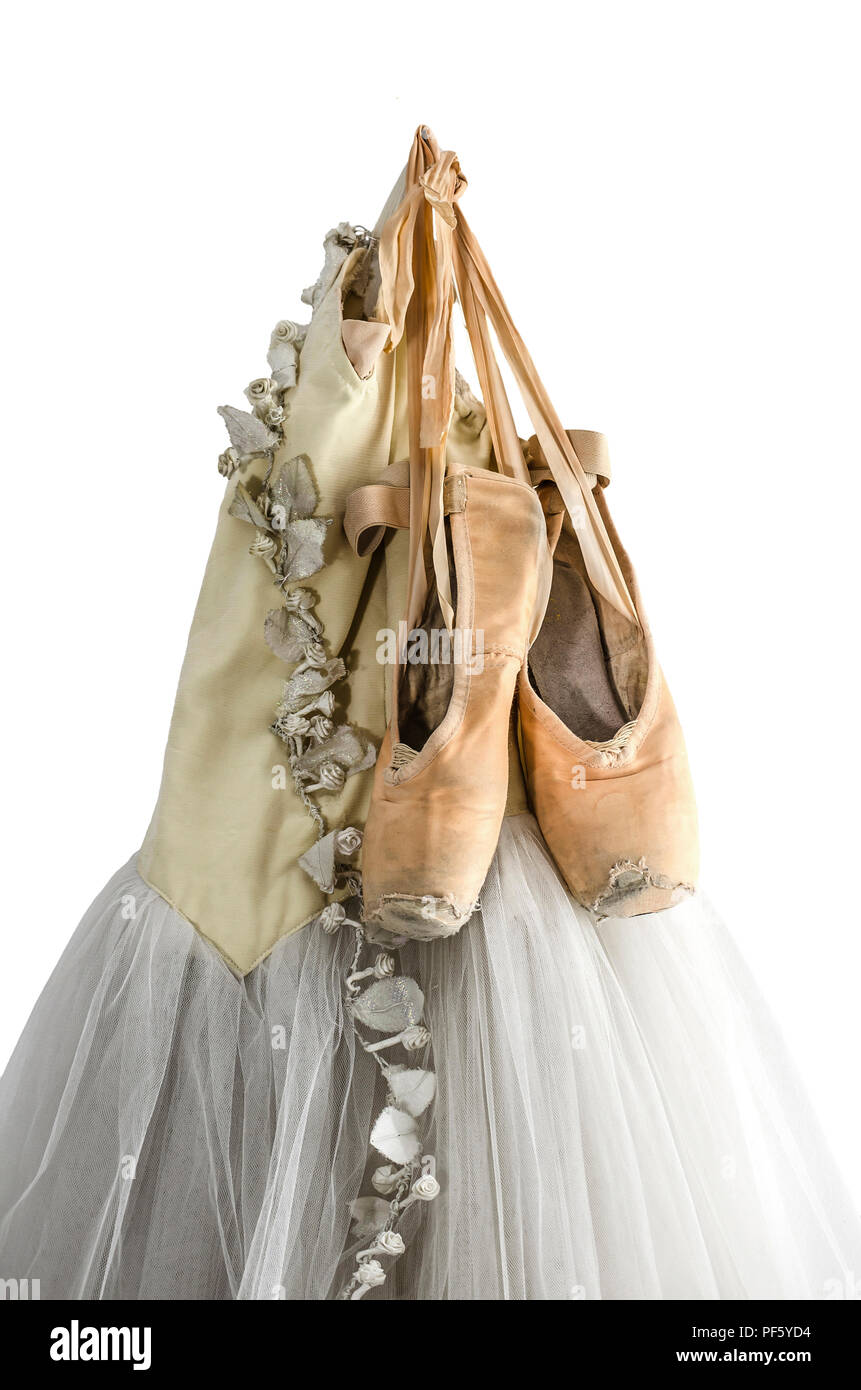 ballet pointe shoes hanging on stock photos amp ballet