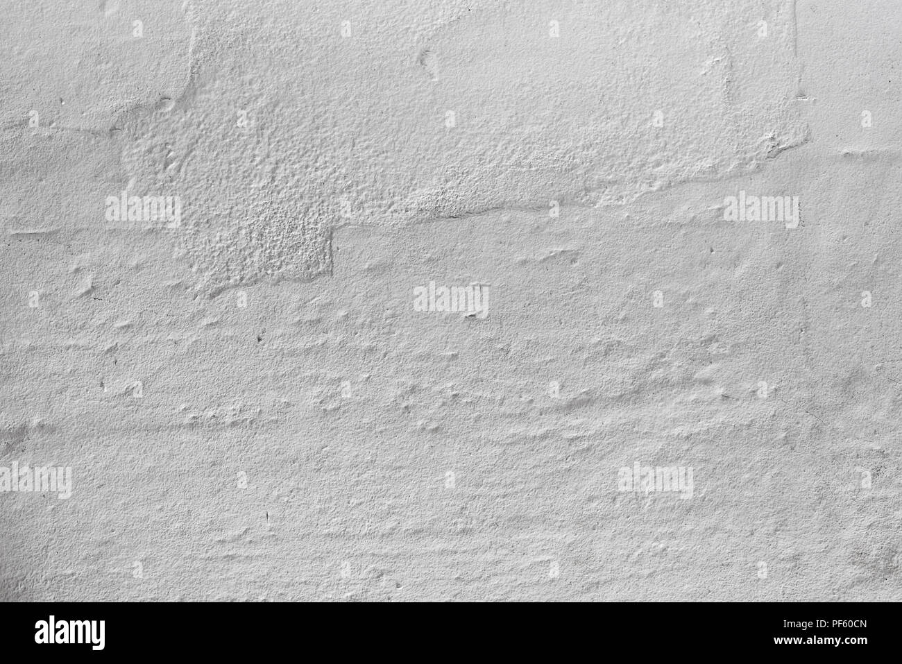 White Painted Concrete Wall Textured Background