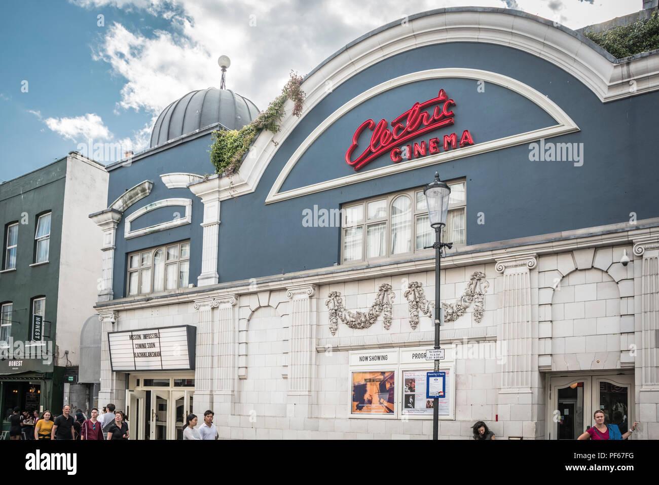 Electric Cinema, Portobello Road, London, UK - Stock Image