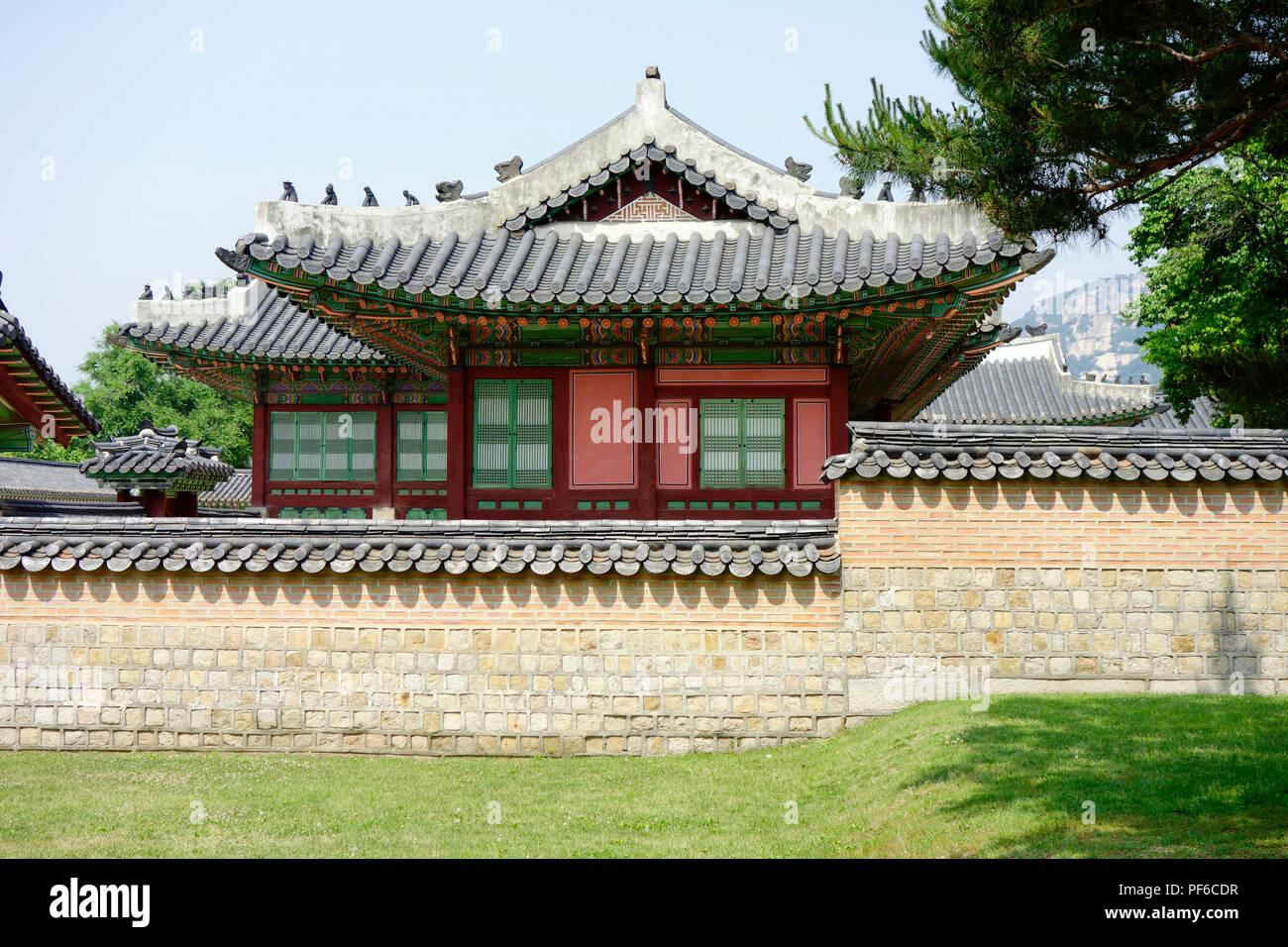 Deoksugung Palace, Seoul, South Korea. Stock Photo