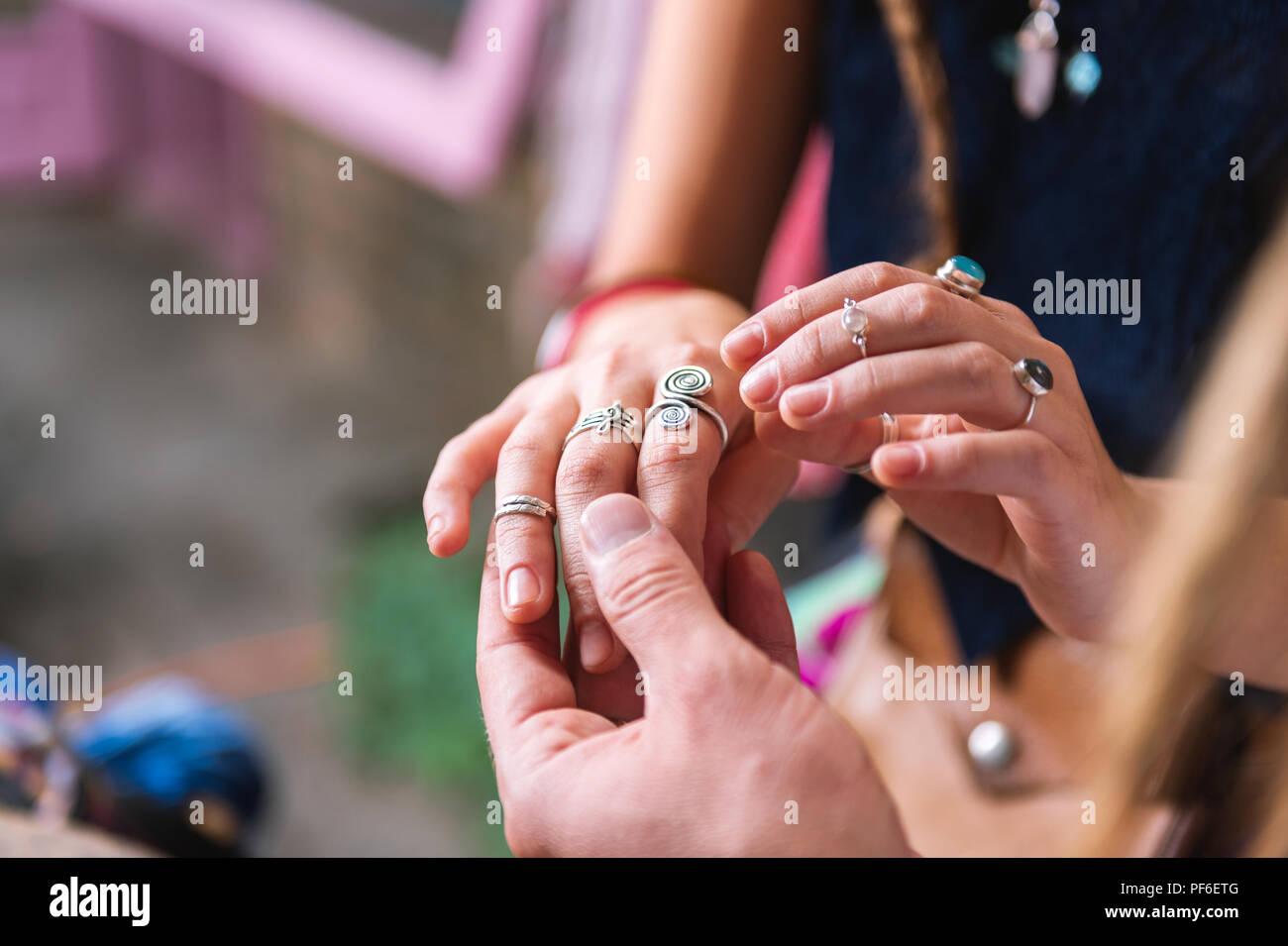 Ring Finger Stock Photos & Ring Finger Stock Images - Alamy