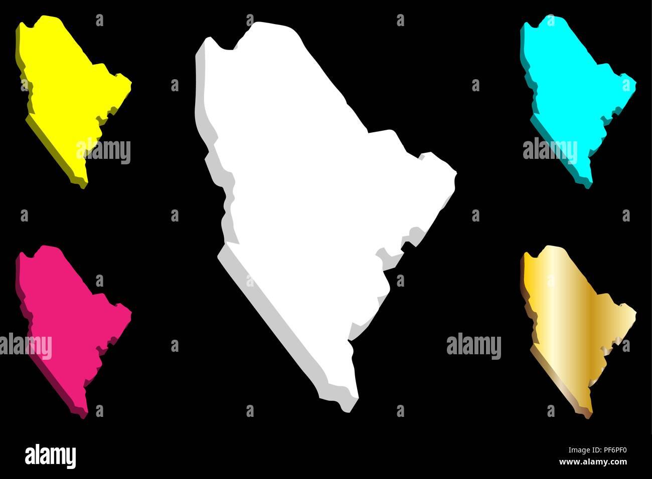Purple America Map.3d Map Of Maine United States Of America White Yellow Purple