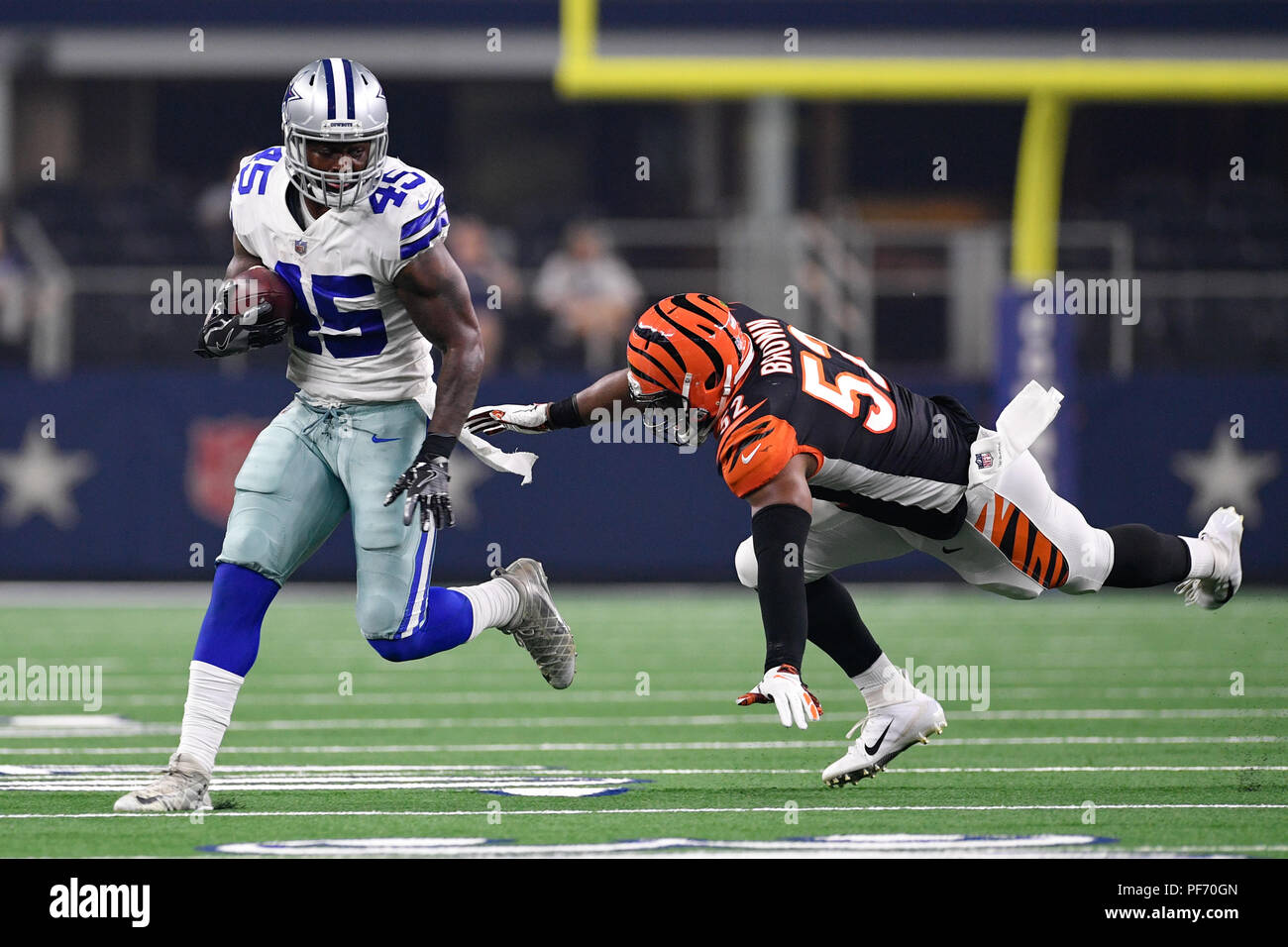 info for 619d2 a79c1 August 18, 2018: Cincinnati Bengals linebacker Preston Brown ...