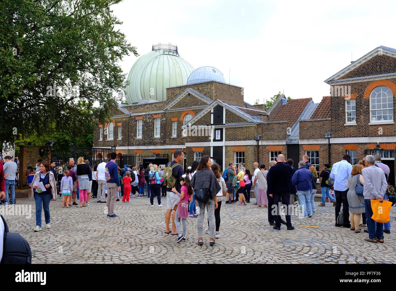 The Royal Observatory Greenwich London UK - Stock Image