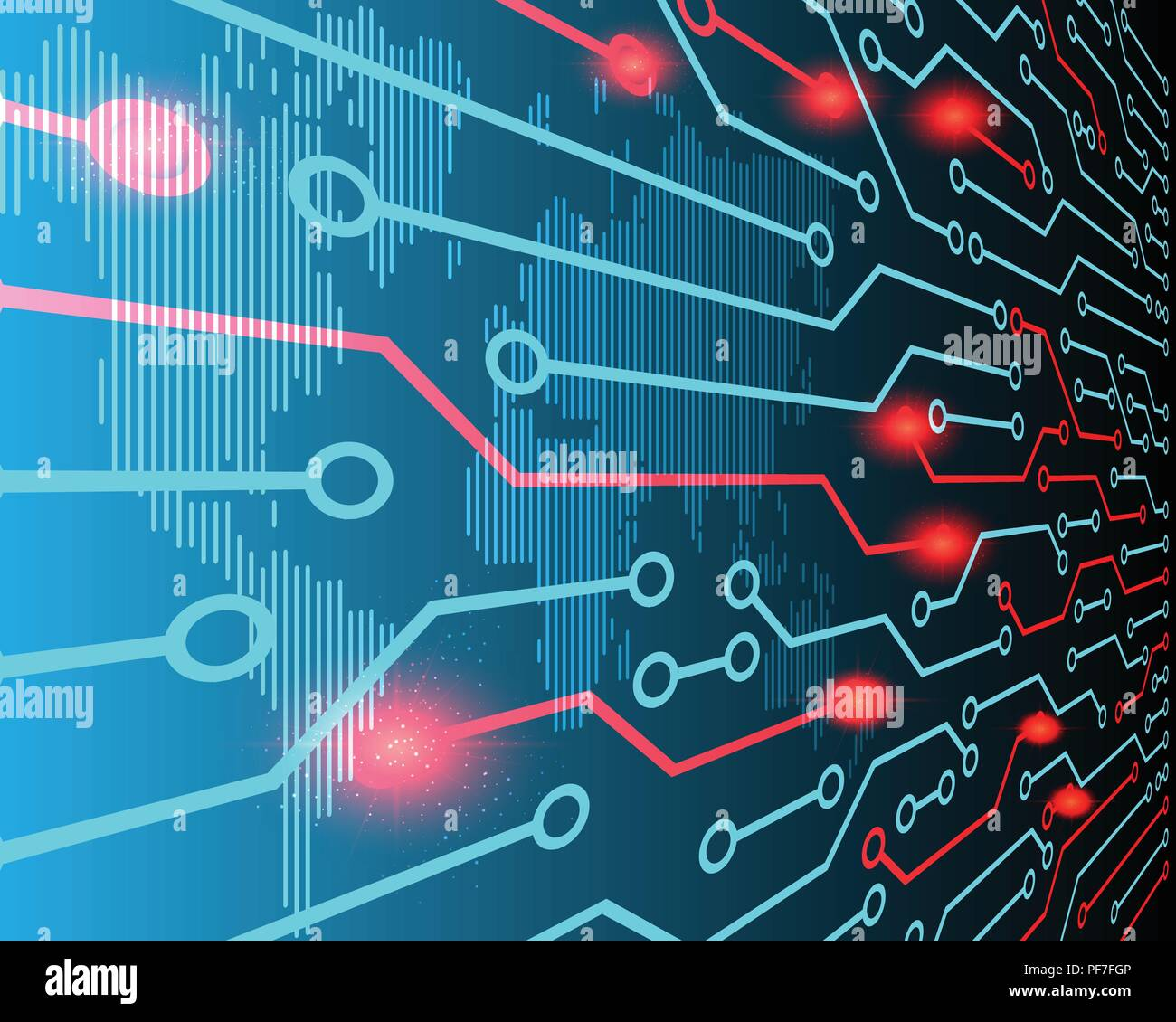 World map line perspective view cyber attack by hacker concept world map line perspective view cyber attack by hacker concept background vector illustration eps10 gumiabroncs Images
