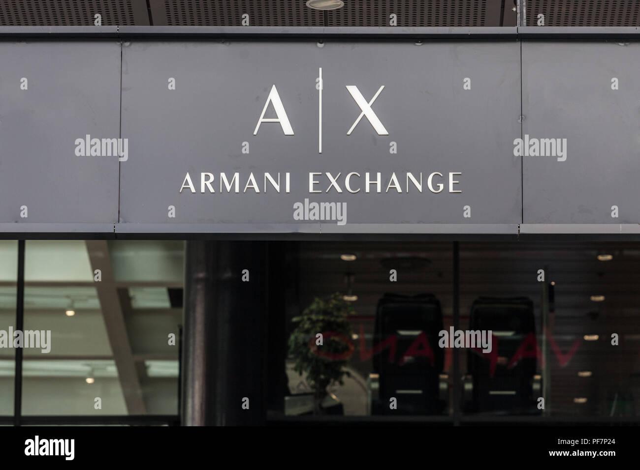 armani exchange brand