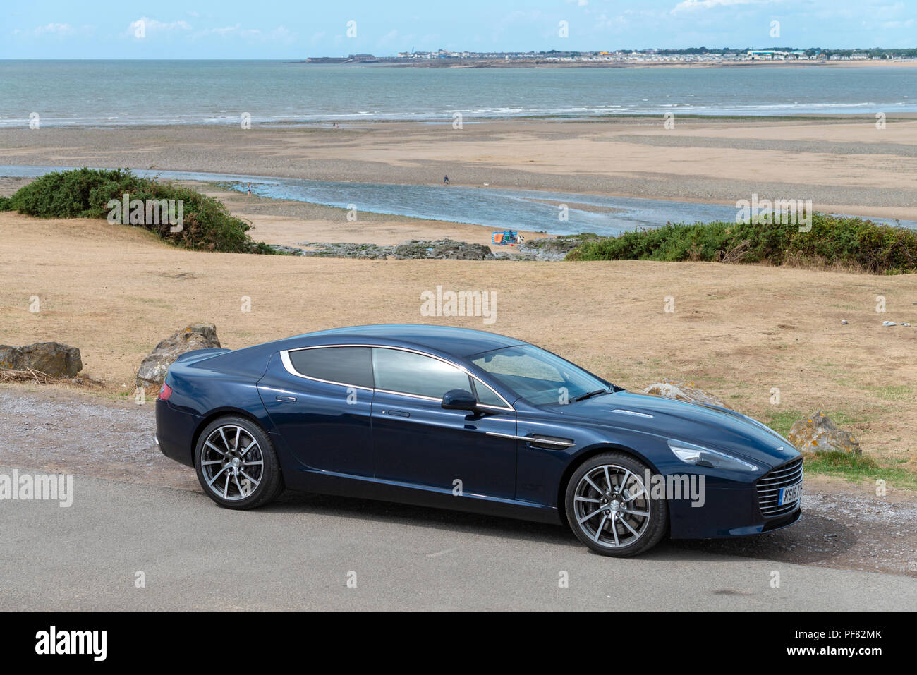 An Aston Martin Rapide S Four Door Sports Saloon Car Photographed In - Aston martin four door