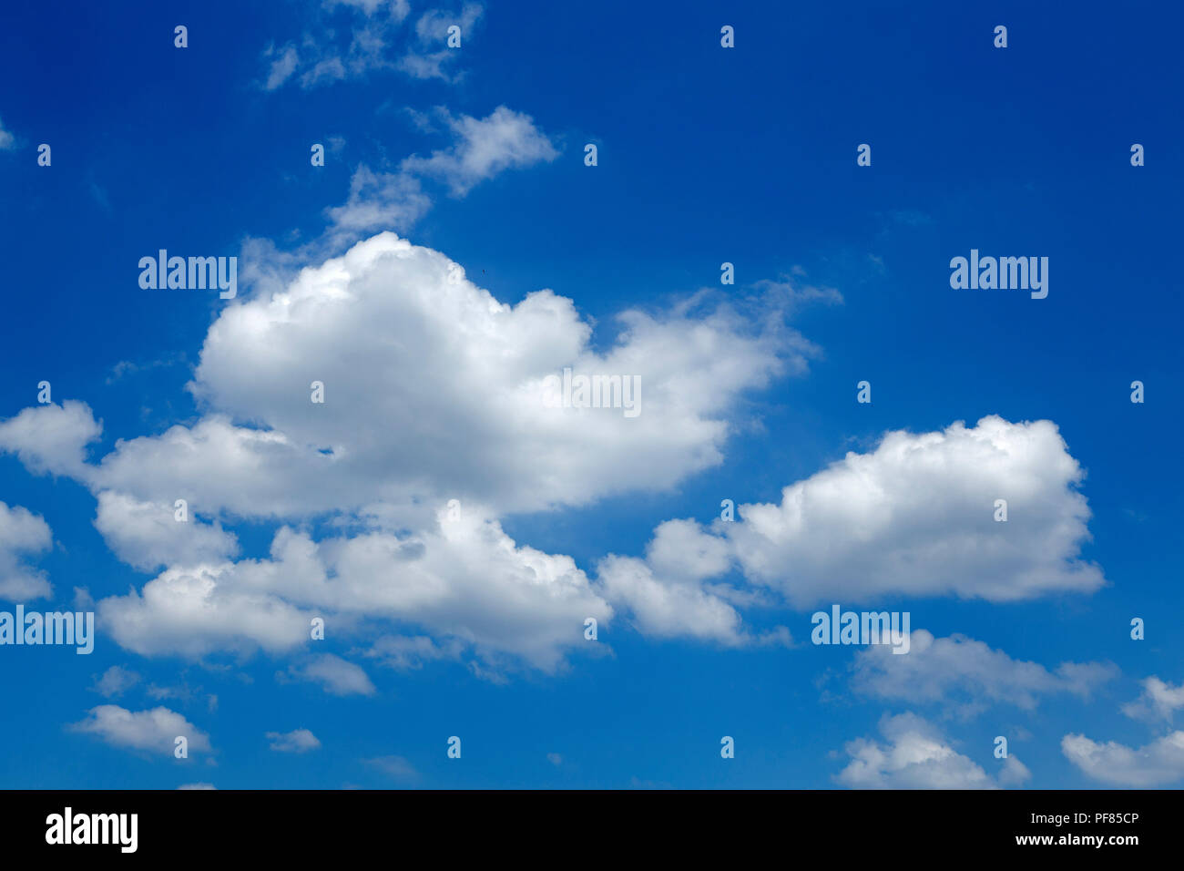clouds in the sky, Germany - Stock Image