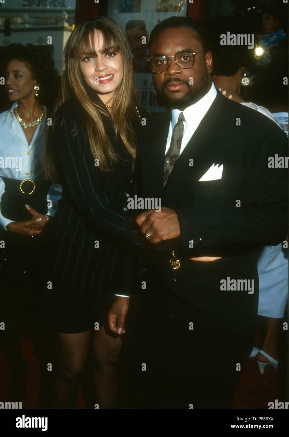 Hollywood Ca June 28 Singer Perri Pebbles Reid And Husband