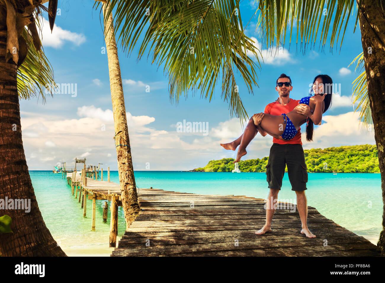 Vacation interracial Interracial vacation