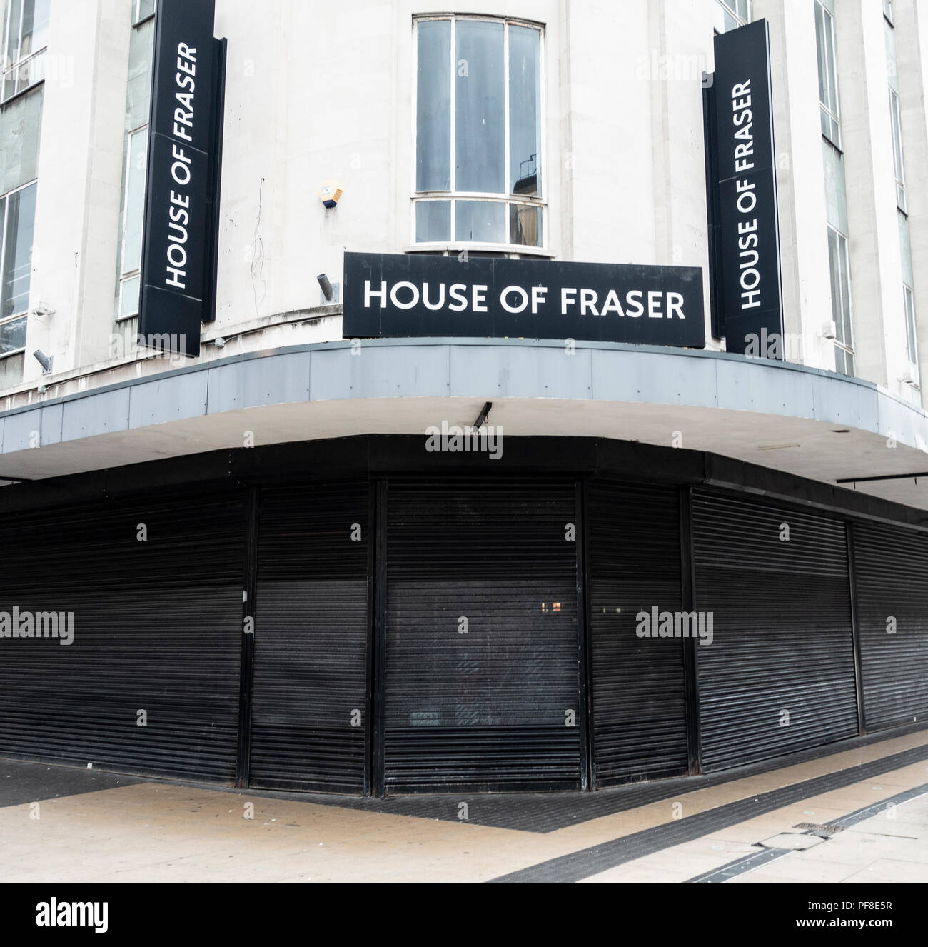 House of Fraser store in Middlesbrough. UK - Stock Image