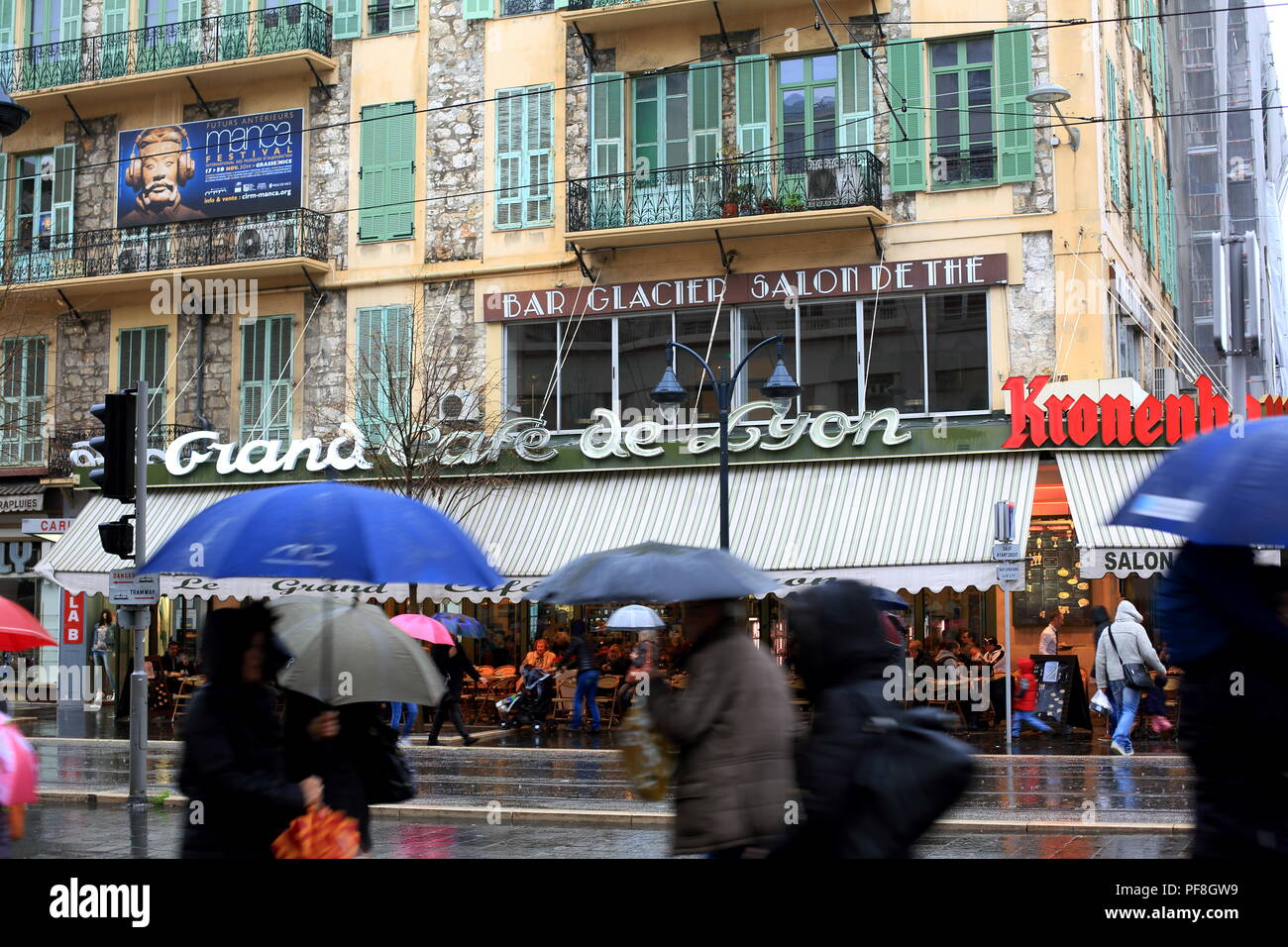 976c6c00082 Nice, avenue Jean Medecin, Alpes Maritimes, French Riviera, France, Europe