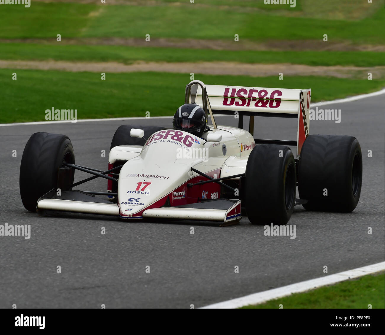 Rob Spencer, Arrows A10B, F1, Historic Racing Car Demonstration, Festival Italia, Brands Hatch, Kent, August 19th, 2018, circuit racing, competition,  - Stock Image
