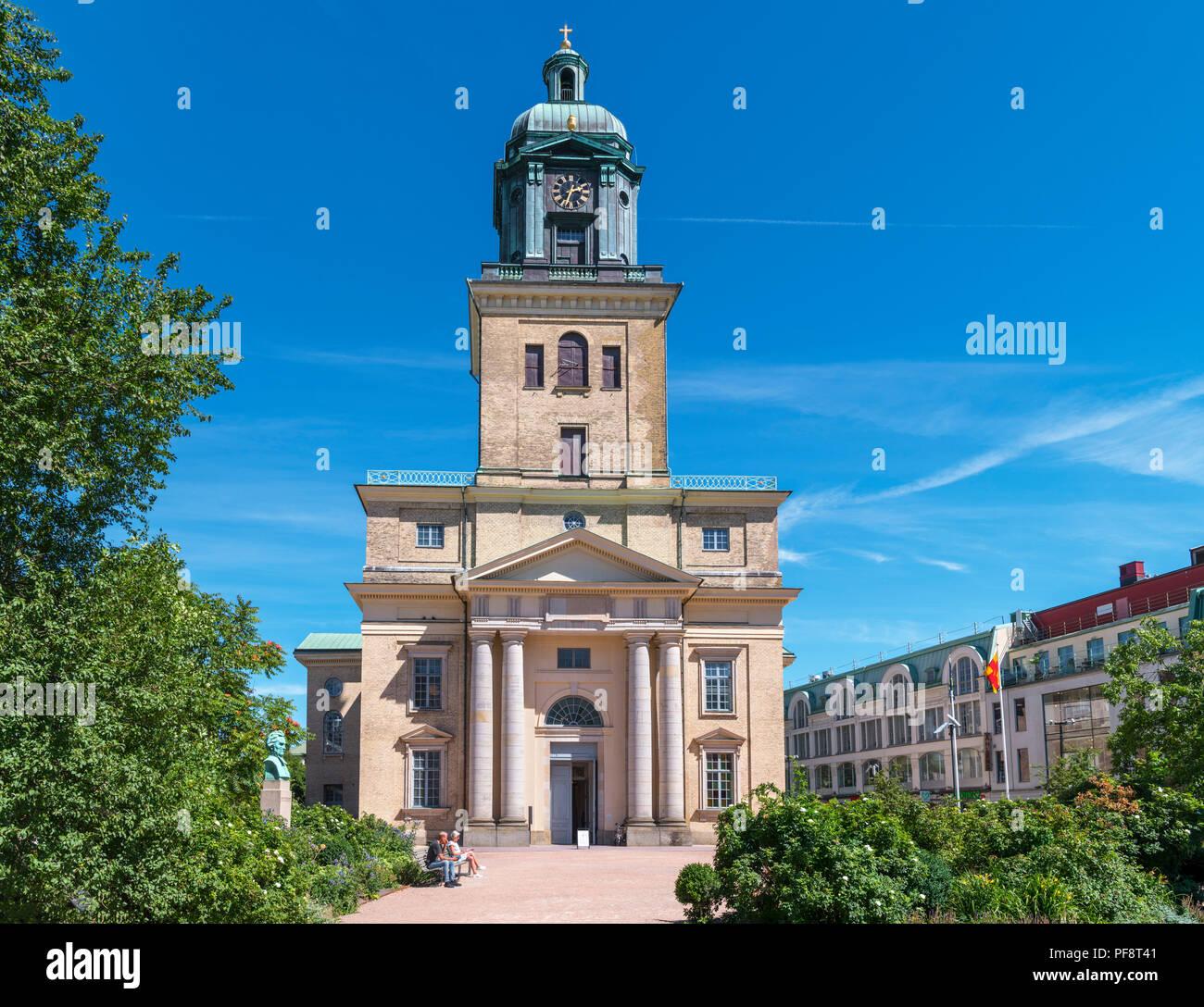 Gothenburg Cathedral (Gustavi domkyrka),  Göteborg, Sweden - Stock Image