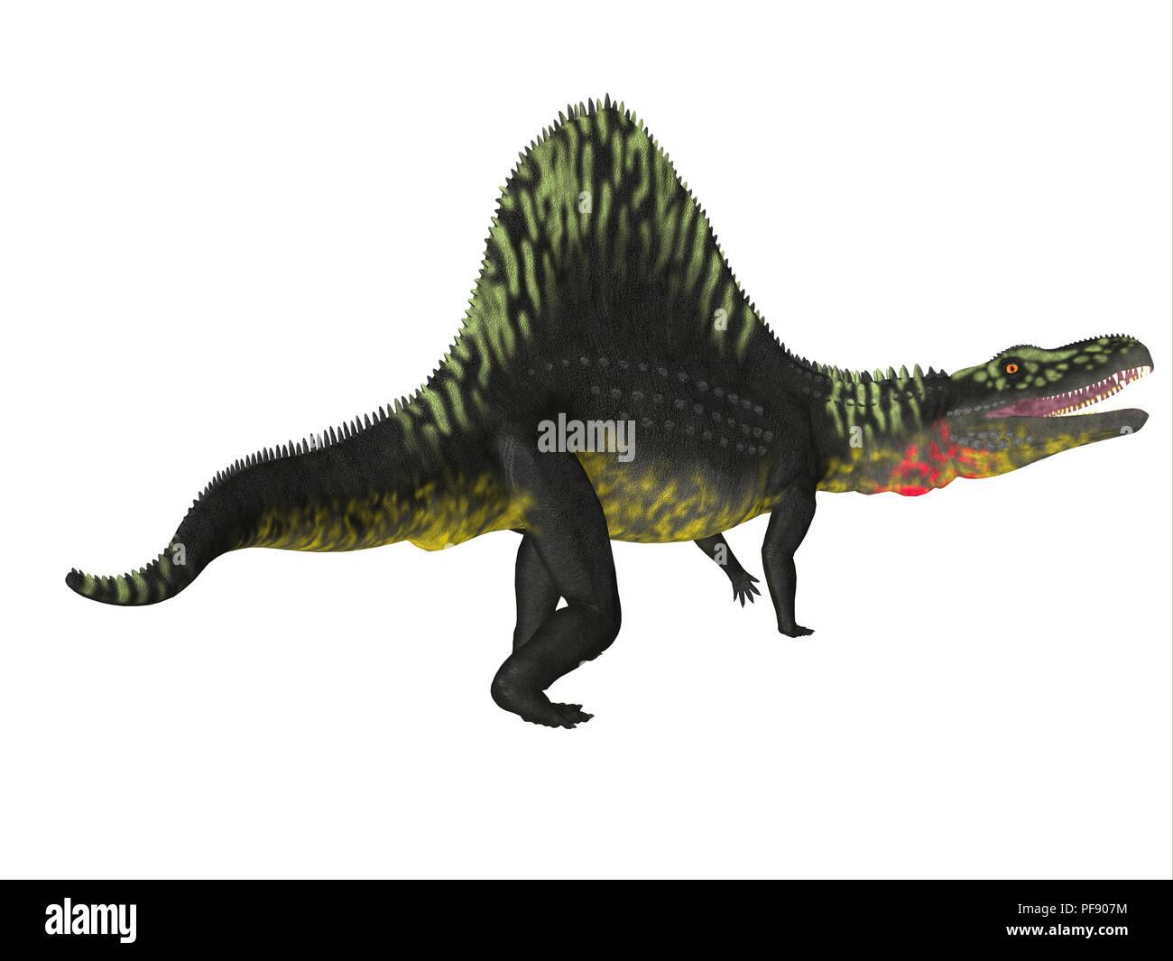 Arizonasaurus Dinosaur - Arizonasaurus was a carnivorous theropod dinosaur that lived in Arizona during the Triassic Period. - Stock Image