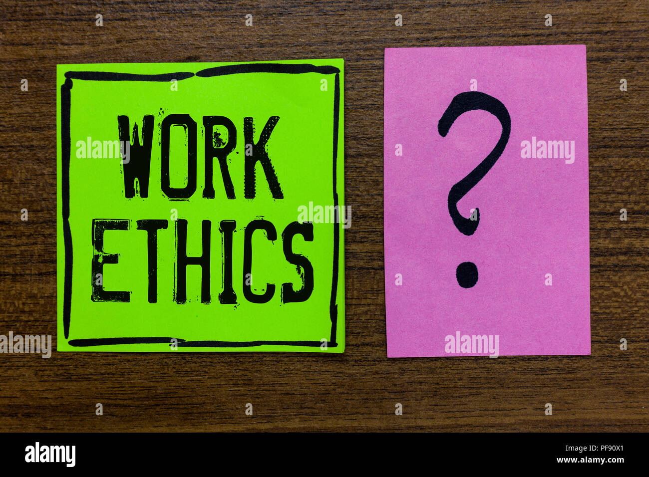 importance of work ethics
