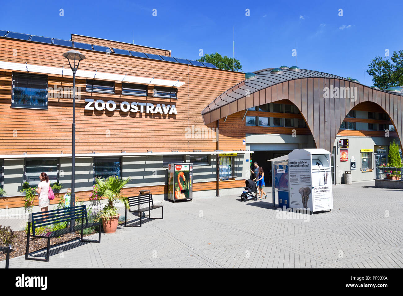 Zoo, Ostrava, Moravskoslezský kraj, Česká republika / ZOO, Ostrava city, North Moravia, Czech republic - Stock Image