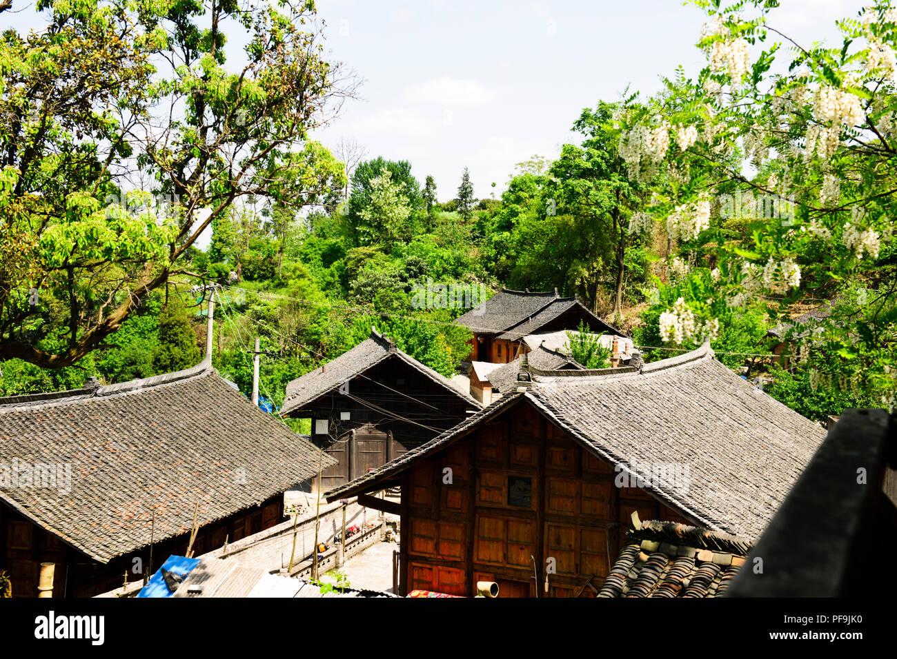 ancient china village life