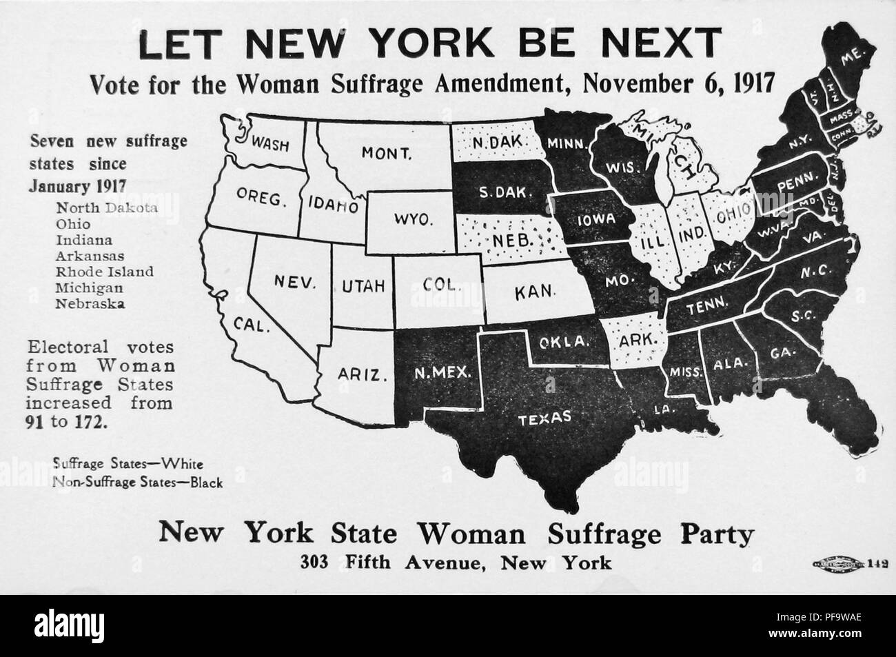 Map Of America Voting.Black And White Card Depicting A Political Map Of The United States