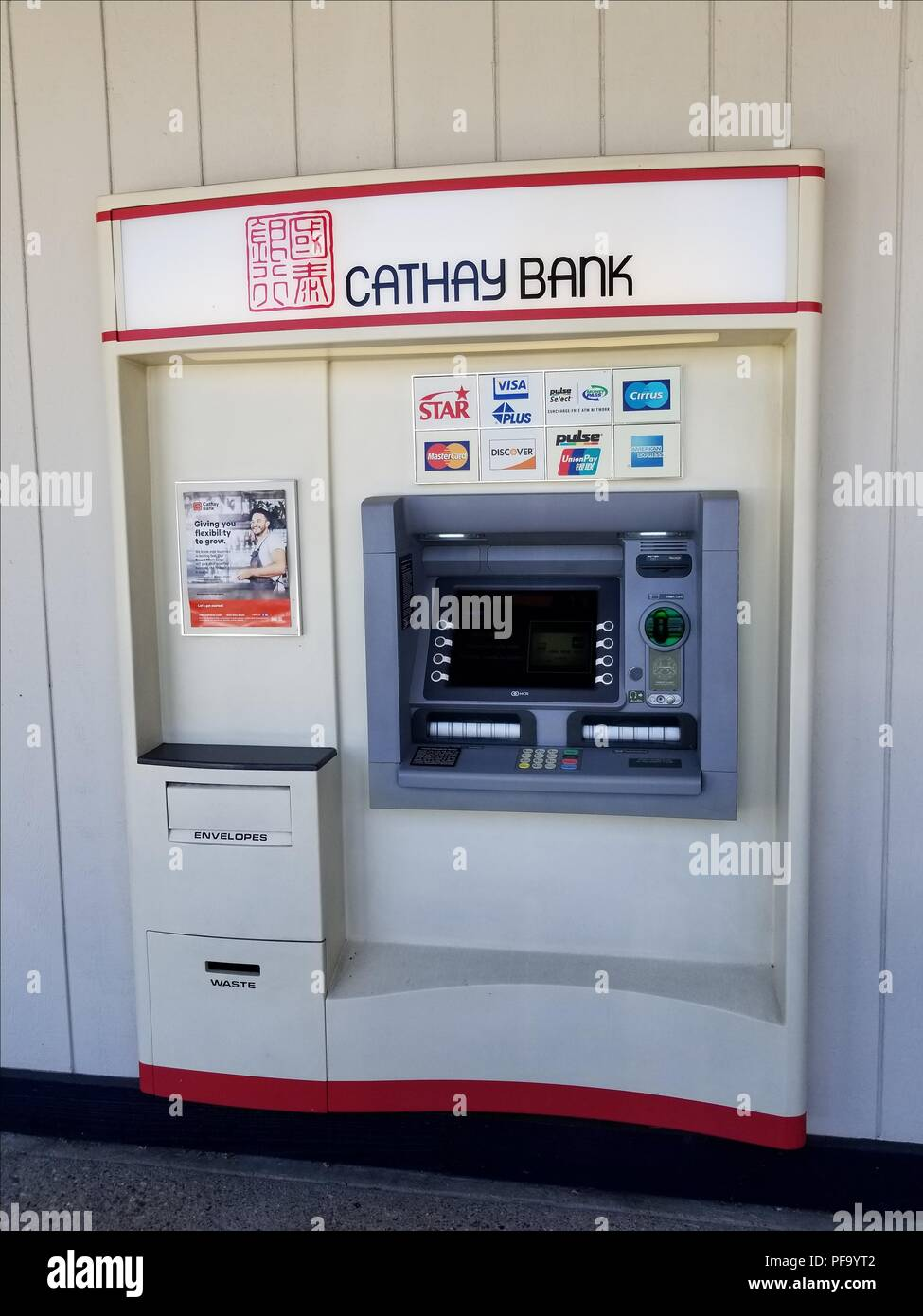 ATM (Automated Teller Machine) for Dublin, California branch of