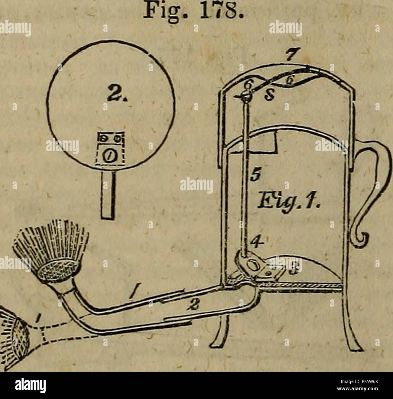 a dictionary of modern gardening  gardening  wat we a fixed a brass rod,  which is kept in its place by a collar brazed to the side of the pot
