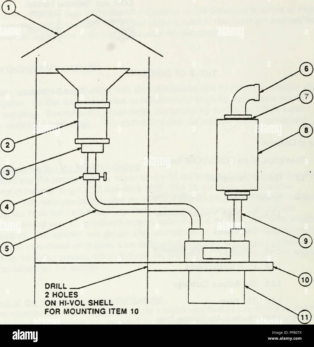 Determination of chlorinated dibenzo-p-dioxins and chlorinated