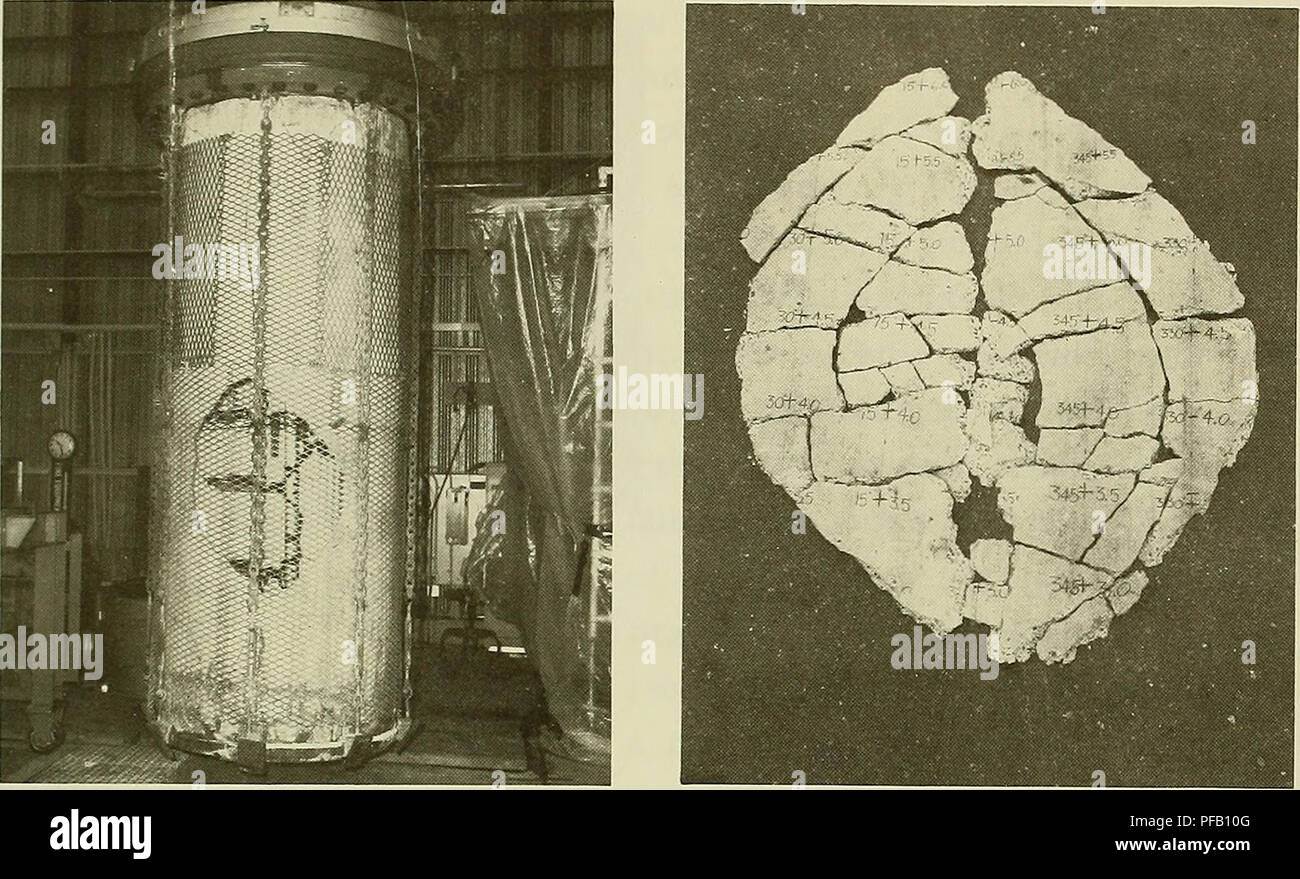 Design for implosion of concrete cylinder structures under