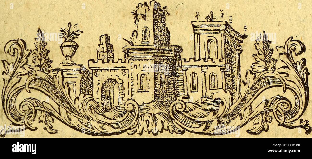 . Des Herrn Abts Vidaure Kurzgefasste geographische, natürliche und bürgerliche Geschichte des Königreichs Chile,. Natural history; Mapuche Indians; Indian linguistics; Imprint 1782. {3f*f)ile i l oon&en^befclH'eibernbep weitem «^ nocf) nicljt fo genau betrieben worben, ötö eS fein natürlicher IKeicf)tljnm »erbienf. diejenigen, meiere nur nacf) t>cti Slmerifani- fd)eu Eroberungen Der ©panier iljre aüge* meinen €rbbefd;reibungen am? ütc^t gejMt (jaben, Ijanbeln jwar oon biefem £anbe; meü aber Die^ac^ricJjten, meiere fte Damals bawm erhielten, allgemein uut> »erworren ftnö,- fo ift Das - Stock Image