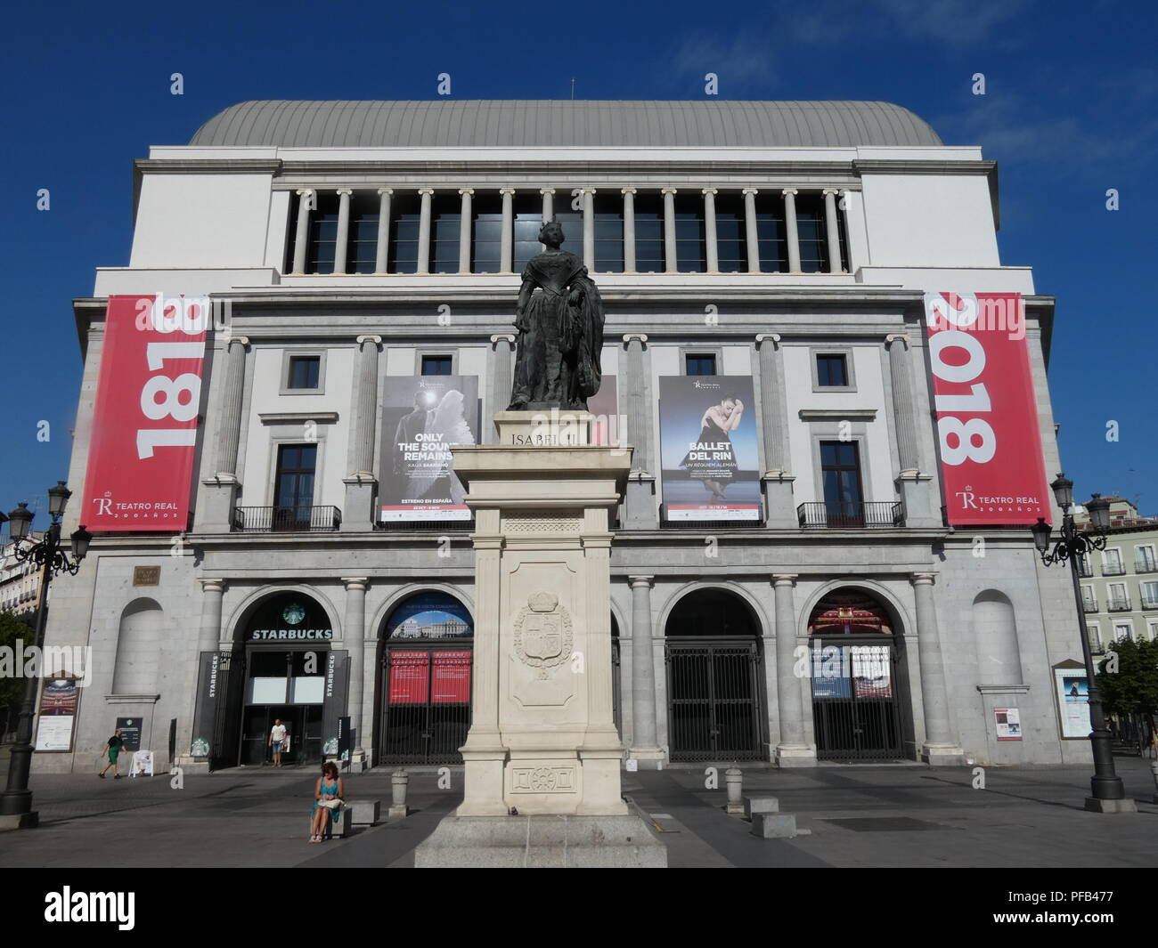 Madrid city centre - Stock Image