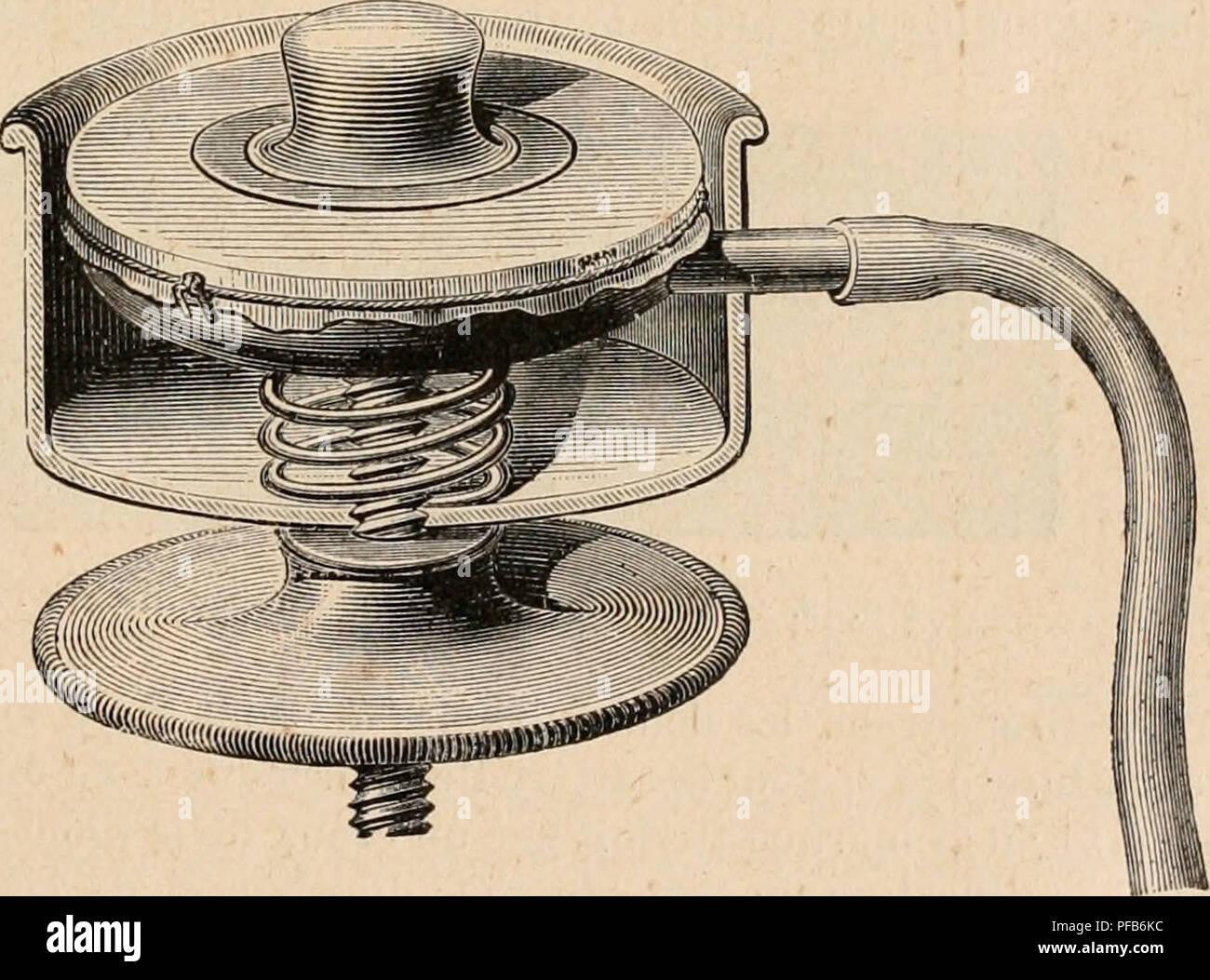 . Dictionnaire de physiologie. Physiology. CARDIOGRAPHE. 161 laire V, notamment l'ondulation A, due à la systole auriculaire, la brusque ascension du début de la systole ventriculaire B, le plateau systolique et ses ondulations, la chute H^HHHMHHHHHHHBHHII ^^^KM wêêêê^^bSI^BêkkmêêêêêbêêêêêêM IgKHB^Hi ^^ÃSSSSSXB^BB^BÃÃÃM ^Sm i^H^^^^^SBinnKSMBiSn^sS ^^^^Bb^SmHI HHHIHH ^^HHvBB BSBBiwBH B B^^mB â jM^n H^H B H ^^^S â u Hh FiG. 16. â Tracés de pression auriculaire (), de pression ventriculaire V et du choc du cÅur P, recueillis simultanément chez le cheval (Marey, Circulation du s - Stock Image