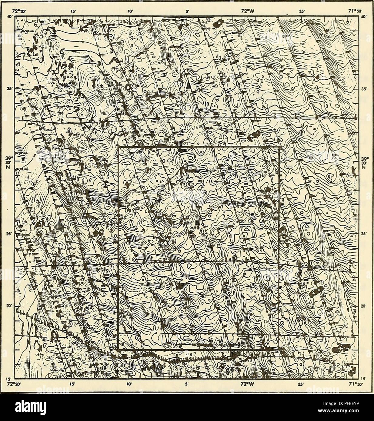 Topographic Map Of Ocean Floor.Topography Map Sea Floor Stock Photos Topography Map Sea Floor