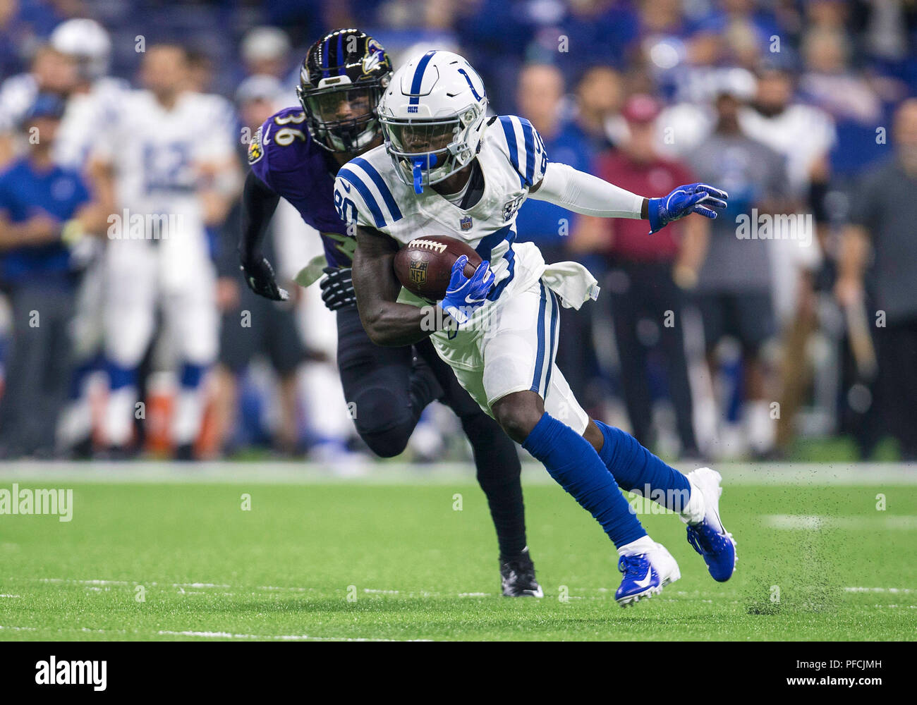 buy popular 12d86 31e64 August 20, 2018: Indianapolis Colts wide receiver Chester ...