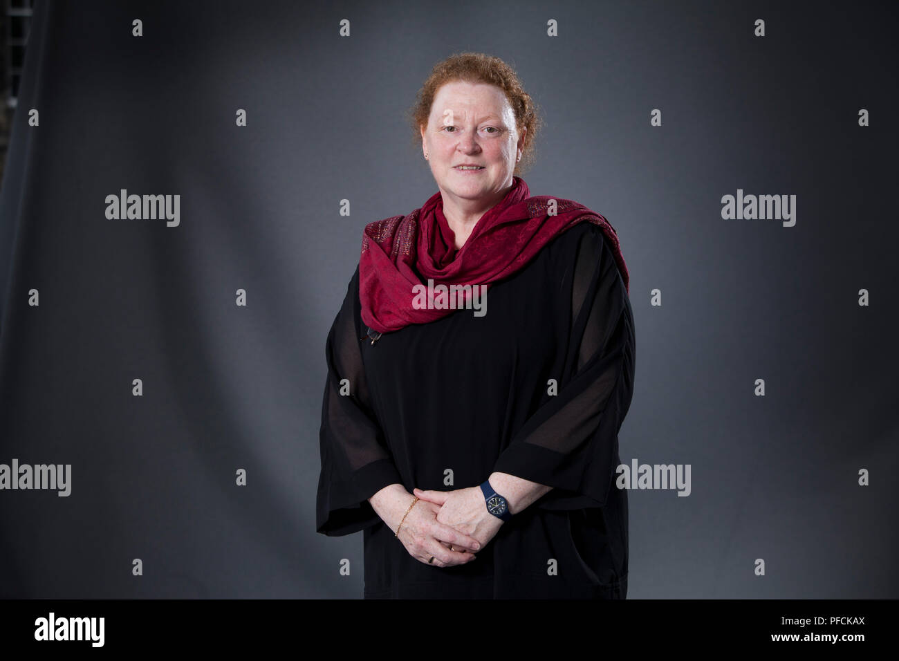 Edinburgh, UK. 21st August, 2018. Dame Susan Margaret Black DBE FRSE FRCP is a Scottish forensic anthropologist, anatomist and academic. She is Professor of Anatomy and Forensic Anthropology at the University of Dundee. Pictured at the Edinburgh International Book Festival. Edinburgh, Scotland.  Picture by Gary Doak / Alamy Live News - Stock Image