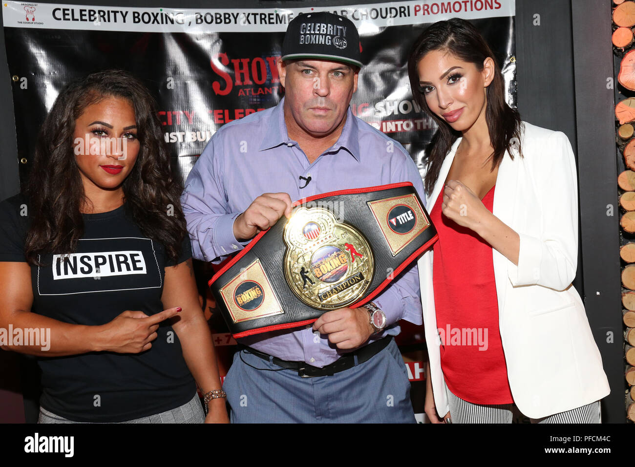 Celebrity boxing match 2019