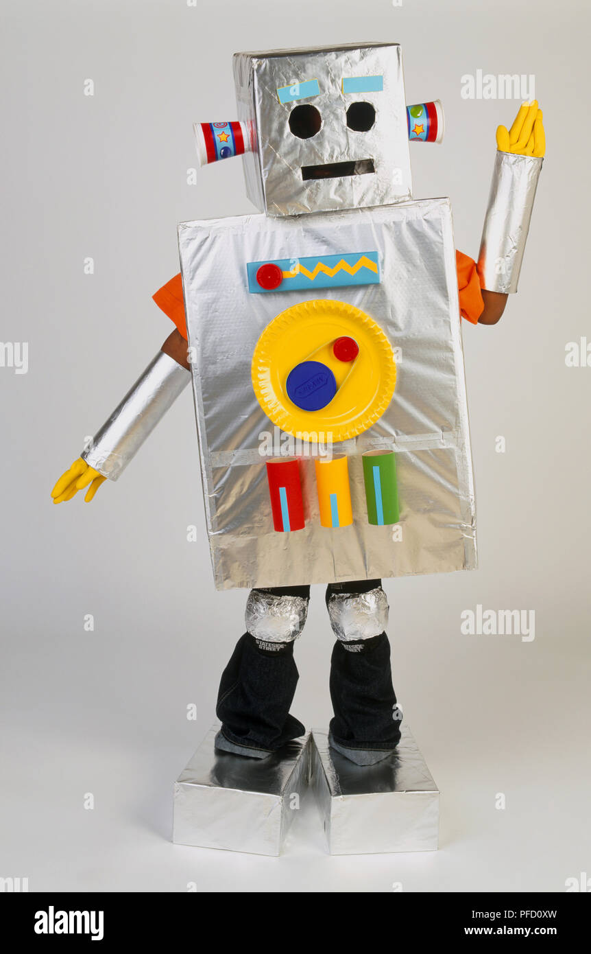 Child Robot Costume