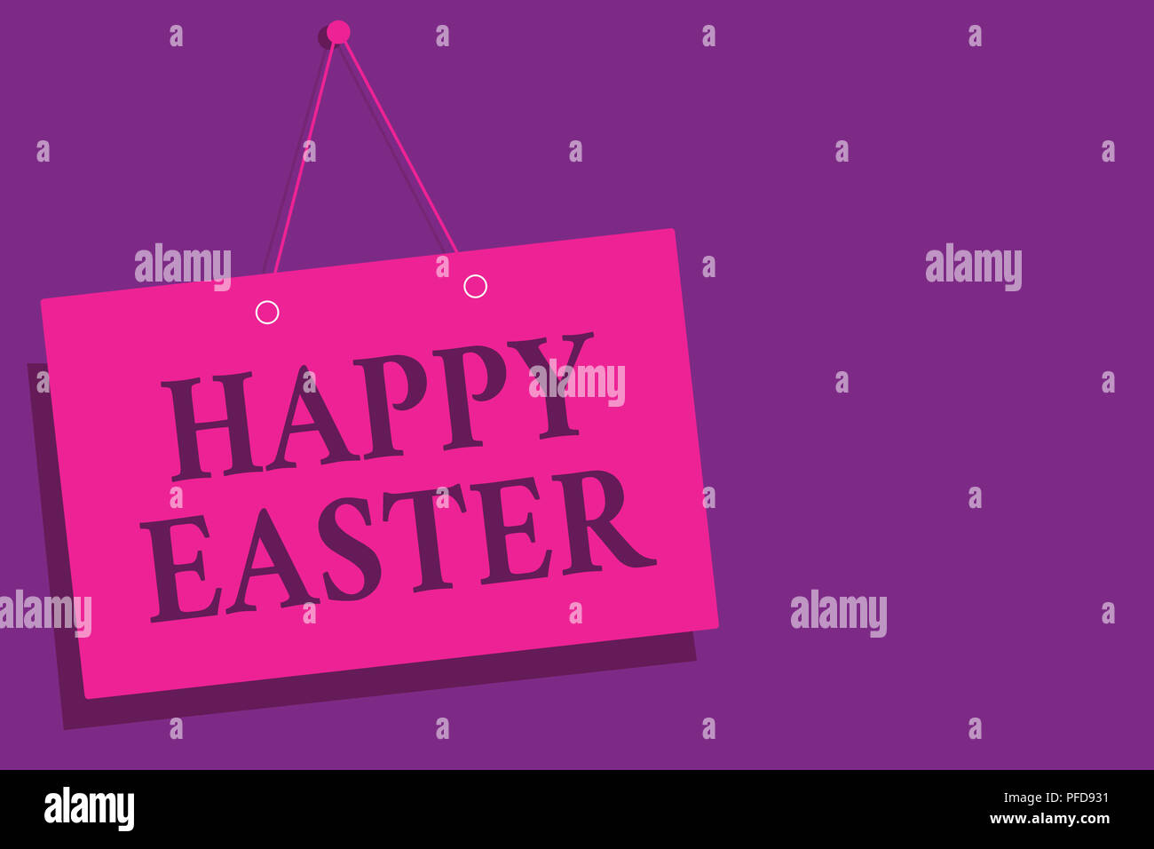 Conceptual hand writing showing Happy Easter. Business photo text ...