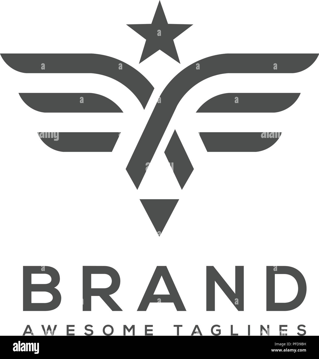 best simple vector wings logo winged logo company and icon wing flying eagle wing brand and logotype wing bird illustration stock vector image art alamy https www alamy com best simple vector wings logo winged logo company and icon wing flying eagle wing brand and logotype wing bird illustration image216037013 html