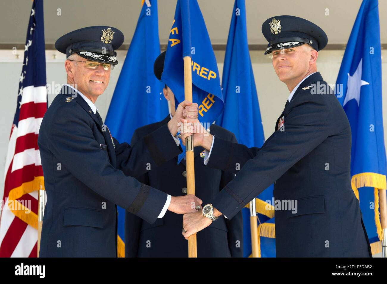 e38fb100818 U.S. Air Force Academy – Col. Timothy W. Thurston II, incoming United  States Air Force Academy Preparatory School commander, assumes command of  the United ...
