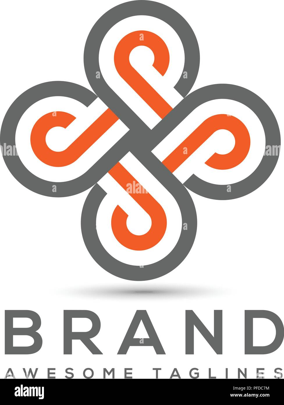 abstract letter p logo design template elements abstract letter pbusiness corporate letter p logo design vector